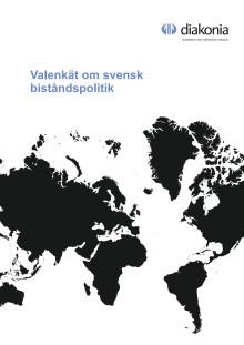 Valenkät om svensk biståndspolitik