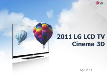 LG Cinema 3D tech spec