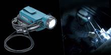 Makita utökar sitt 14.4 och 18V sortiment med en LED-pannlampa