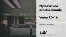 Nya arbetslösa: Kommun för kommun