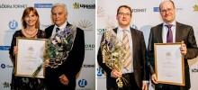 Mercodia och VBN Components prisades på Företagargalan i Uppsala