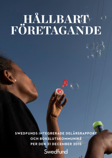 Swedfunds integrerade delårsrapport och bokslutskommuniké per den 31 december 2015