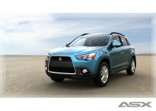 Mitsubishis nya kombi-crossover premiärvisas i Europa
