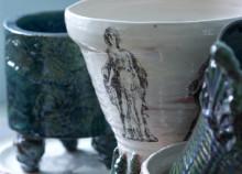 Kulisser & krukor - utställning i Déjeunersalongen på Drottningholms Slottsteater öppnar 1 april
