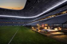 Audi og Airbnb forvandler stadion til et hjem