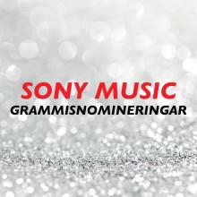 Sony Musics artister och samarbetspartners kammar hem 20 Grammisnomineringar