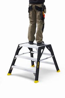 Känn dig säker på en PROF+ arbetsbock från WIBE Ladders