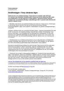 Värdebarometern 2015 Tierps kommun