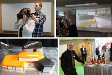 Virtuellt första spadtag i Videum Science Park