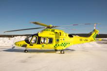 Landstingets nya ambulanshelikopter modernast i Sverige