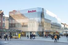 Premiär för nya stora Åhléns i Uppsala