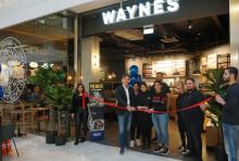 Idag öppnar Wayne's Coffee i Täby Centrum
