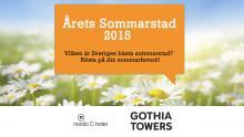 Nu börjar omröstningen om Årets Sommarstad 2015