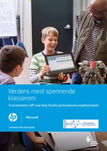 Reinvent The Classroom med Teknologiskolen Hundsund Ungdomsskole