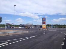 Statoil öppnade ny fullservicestation vid EN3 i Värnamo