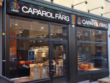 Ny Caparol färgbutik i Norrtull