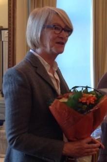 Ulla Waldenström mottog utmärkelse