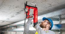 Nya batteridrivna bultpistolen från Hilti -  renare, tystare och mer problemfri än någon annan bultpistol för stål och betong.