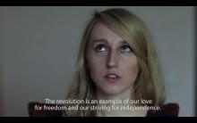 Hon gör konst av Krim-konflikten –Tre systrar, videoinstallation av Tanja Muravskaja