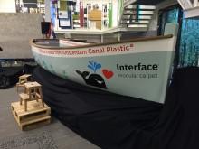 Interface inleder samarbete med Plastic Whale för att rensa sjöar och hav på plastavfall