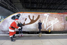 Ten designs shortlisted in Virgin Christmas Train competition