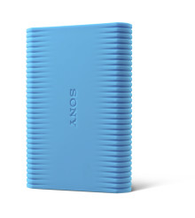 Sony's new shock proof HDD ensures your data is safely stored and backed-up under tough environments
