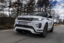 Fem stjärnor til Range Rover Evoque