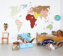 Mr Perswall lanserar Hide & Seek – lekfulla tapeter från golv till tak