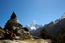 Walk this way!  Exodus welcomes the start of trekking season in Nepal.