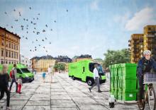 Komplext, men fullt möjligt att etablera fossilfria urbana godsterminaler