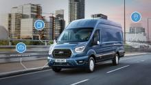 Älykkäin ja tehokkain uusi Ford Transit maailman ensiesittelyssä Hannoverin hyötyajoneuvonäyttelyssä