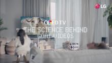 """THE SCIENCE BEHIND…"" – LG:S NYA YOUTUBE-KAMPANJ DRIVER MED DAGENS INTERNETFENOMEN"