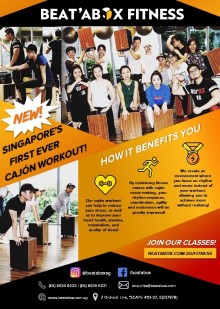 BEAT'ABOX FITNESS CLUB launch in ERC Institute!