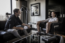 Studio DN: Zlatan Ibrahimović om sin existentiella kris