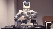 Robot var «show-sjef» da ny Fiesta ble avduket