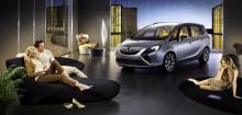 Världspremiär: Opel Zafira Tourer Concept, en flygplatslounge på hjul