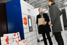 Castellums hyresgäster får e-handlade varor levererade direkt till jobbet