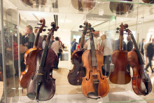 Launch of 'The Fiddle and the Fife' exhibition