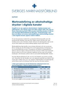 Marknadsföring av alkoholhaltiga drycker i digitala medier
