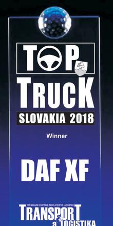 Uusi DAF XF -sarja – vuoden kuorma-auto 2018 Slovakiassa