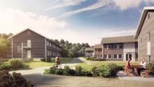 Bygger 3 nye Innkvarteringsbygg
