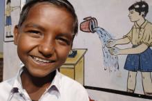 Musikhjälpen 2012 säkrar rent vatten och toaletter för barnen i Puri