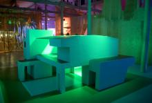 Veidekke och Färgfabriken har en utställning ihop