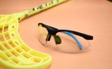 Innebandyspelare kan undvika ögonskada med skyddsglasögon