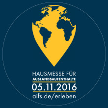 Das Event-Highlight des Jahres - AIFS Hausmesse für Auslandsaufenthalte!