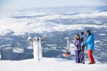 SkiStar Åre: At the top of Mount Åreskutan in November