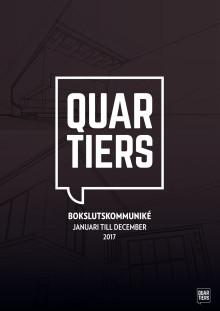 Bokslutskommuniké januari till december 2017