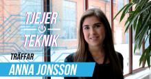 Tjejer och Teknik: Anna Jonsson