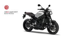 「XSR900」が世界的権威のデザイン賞で最高賞に選定 当社単独モデルとしては最多5つ目のデザイン賞受賞