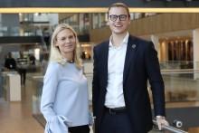 Marcus Bruns ny nordisk bærekraftsjef i Storebrand